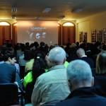 Settimo San Pietro - La sala gremita per l'incontro di presentazione
