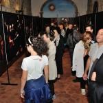 Settimo San Pietro - Il pubblico in visita al termine della presentazione