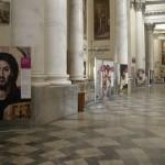 Imperia - L'allestimento nella Basilica Concattedrale di San Maurizio