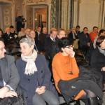 Sondrio, inaugurazione - L'incontro in una delle sale del settecentesco Palazzo Sertoli
