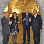 Sondrio, inaugurazione - Il brindisi finale
