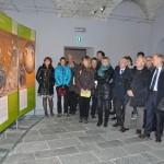 Sondrio, inaugurazione - La visita guidata