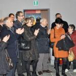 Sondrio, inaugurazione - Applausi al termine della visita