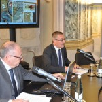 Sondrio, inaugurazione - L'intervento di Miro Fiordi, amministratore delegato del Credito Valtellinese