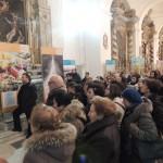 Centuripe (EN), inaugurazione - Il pubblico assiepato segue la visita guidata